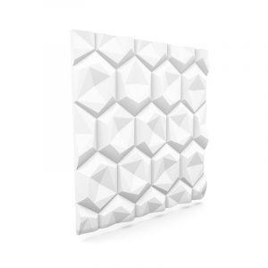 3D väggpanel - Hexagon