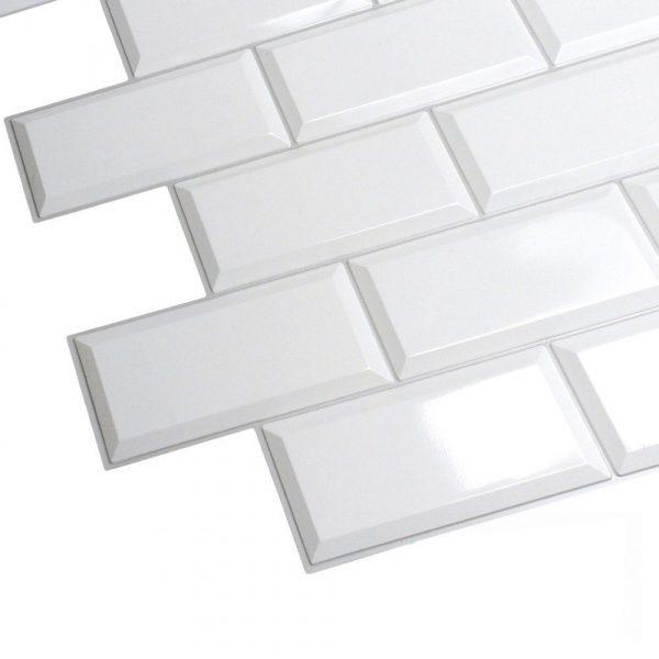 Väggpanel - Mix i PVC - 10 pack